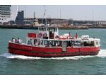 The 1946 built Hythe ferry Hotspur IV still acts as a reserve vessel if you are in search of that fish & chips lunch!